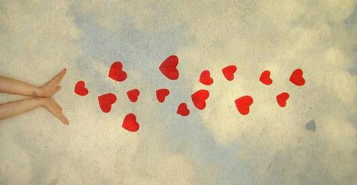 El placer de amar, solo porque sí.