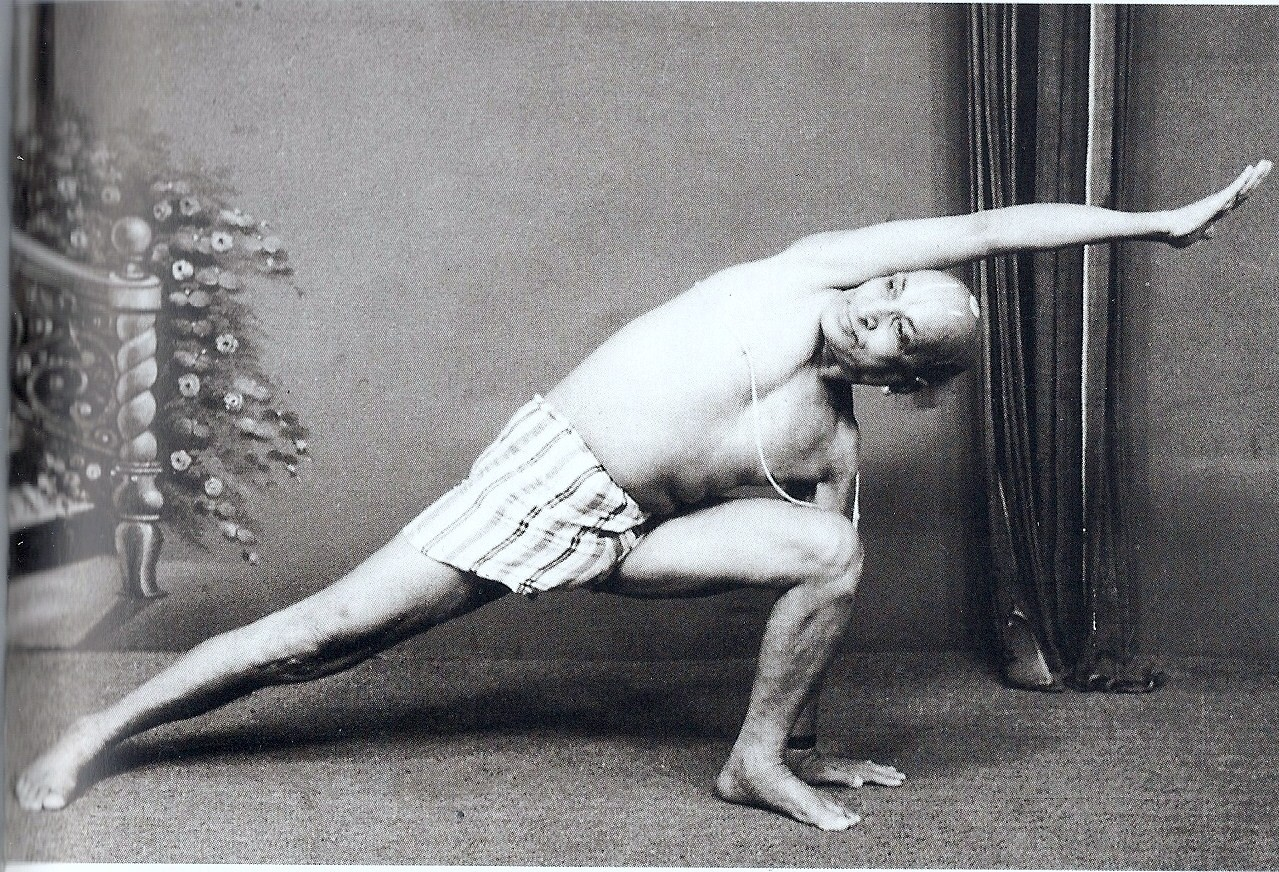 El yoga de Krishnamacharya