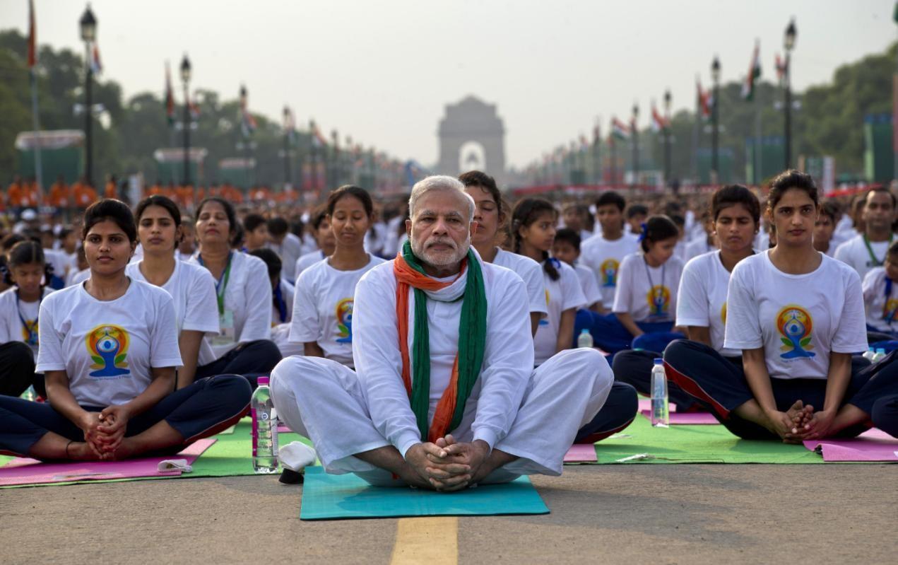 FOTOS del Día Internacional del Yoga