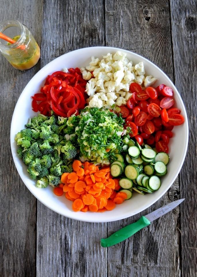 Desfile de verduras, 11 diferentes (infográficos)